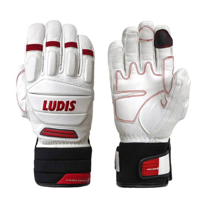 루디스 PRO GRIP S WHITE/RED